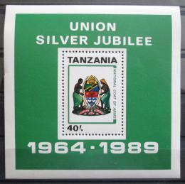 Poštovní známka Tanzánie 1989 Státní znak Mi# N/N