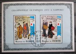 Poštovní známky Èad 1971 ZOH Sapporo Deluxe Mi# 353-54