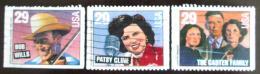 Poštovní známky USA 1993 Hudební dìjiny Mi# 2397-99