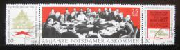 Poštovní známky DDR 1970 Postupimská dohoda Mi# 1598-1600