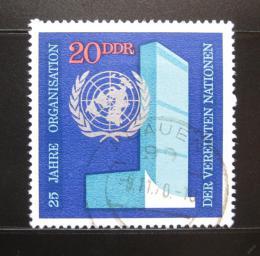 Poštovní známky DDR 1970 Ústøedí OSN Mi# 1621
