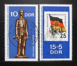 Poštovní známky DDR 1970 Výstava mladých filatelistù Mi# 1613-14
