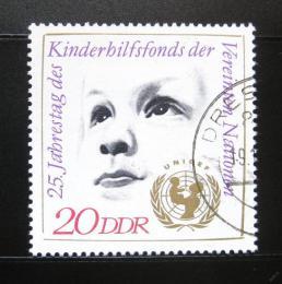 Poštovní známka DDR 1971 UNICEF, 25. výroèí Mi# 1690
