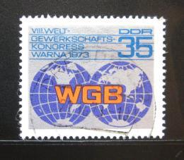 Poštovní známka DDR 1973 Odboráøský kongres Mi# 1885