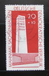 Poštovní známka DDR 1960 Památník Sachsenhausen Mi# 783a