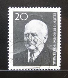 Poštovní známka DDR 1960 Prezident Wilhelm Pieck Mi# 784A