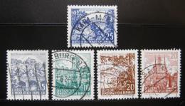 Poštovní známky DDR 1961 Krajina a historické stavby Mi# 815-16,835-37