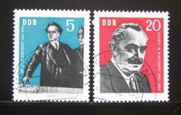 Poštovní známky DDR 1962 Jiøí Dimitrov Mi# 893-94