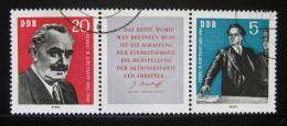 Poštovní známky DDR 1962 Jiøí Dimitrov Mi# 893-94 Kat 70€