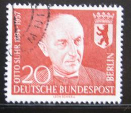 Poštovní známka Západní Berlín 1958 Prof. Otto Suhr, starosta Berlína Mi# 181 - zvětšit obrázek