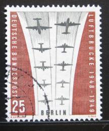 Poštovní známka Západní Berlín 1959 Letecká blokáda Mi# 188 - zvětšit obrázek