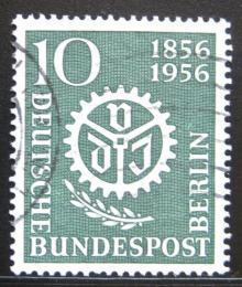 Poštovní známka Západní Berlín 1956 Spoleènost inženýrù Mi# 138