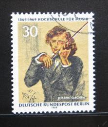 Poštovní známka Západní Berlín 1969 Joseph Joachim Mi# 347