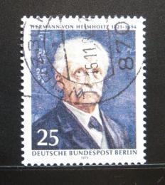 Poštovní známka Západní Berlín 1971 Hermann Helmholtz, vědec Mi# 401 - zvětšit obrázek