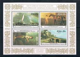 Poštovní známky JAR 1980 Umìní Mi# Block 10