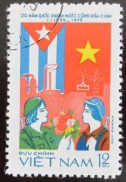 Poštovní známka Vietnam 1979 Výroèí Kuby Mi# 1015