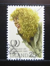 Poštovní známka Island 1985 Islandská dívka Mi# 635
