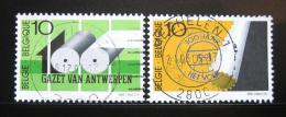 Poštovní známky Belgie 1991 Belgické noviny Mi# 2487-88