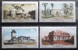 Poštovní známky Namíbie, SWA 1977 Historické budovy Mi# 436-39