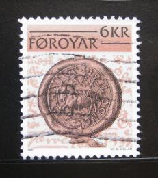 Poštovní známka Faerské ostrovy 1981 Stará peèe� Mi# 68