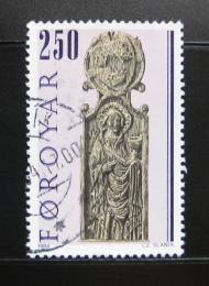 Poštovní známka Faerské ostrovy 1984 Náboženské umìní Mi# 93