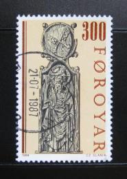 Poštovní známka Faerské ostrovy 1984 Náboženské umìní Mi# 94