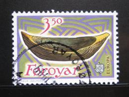 Poštovní známka Faerské ostrovy 1989 Døevìná loïka Mi# 184