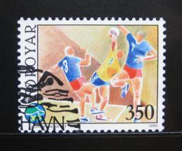 Poštovní známka Faerské ostrovy 1989 Házená Mi# 187