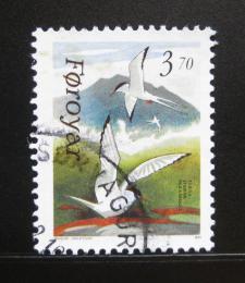 Poštovní známka Faerské ostrovy 1991 Ptáci Mi# 221