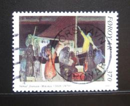 Poštovní známka Faerské ostrovy 1991 Umìní, Joensen-Mikines Mi# 224