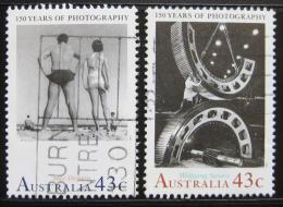 Poštovní známky Austrálie 1991 Fotografie Mi# 1249-50