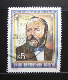Poštovní známka Rakousko 1992 Franz J. Muller Mi# 2055