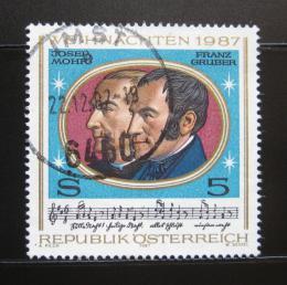 Poštovní známka Rakousko 1987 Skladatelé Mi# 1908