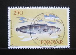 Poštovní známka Faerské ostrovy 1983 Ryba Mi# 86