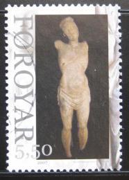Poštovní známka Faerské ostrovy 2007 Døevìná socha Mi# 624