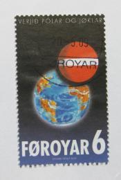 Poštovní známka Faerské ostrovy 2009 Globální oteplování Mi# 667