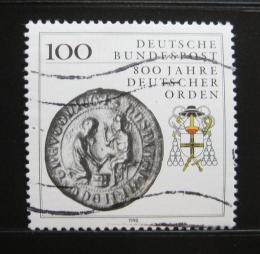 Poštovní známka Nìmecko 1990 Germánský øád Mi# 1451