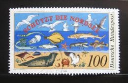Poštovní známka Nìmecko 1990 Ochrana životního prostøedí Mi# 1454