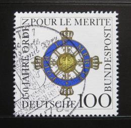 Poštovní známka Nìmecko 1992 Meritský øád Mi# 1613