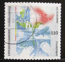Poštovní známka Nìmecko 2000 Výstava EXPO Mi# 2112