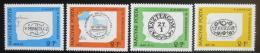 Poštovní známky Maïarsko 1972 Poštovní razítka Mi# 2760-63