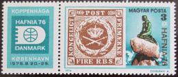 Poštovní známka Maïarsko 1976 Výstava HAFNIA Mi# 3133