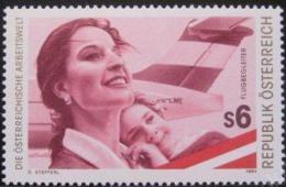 Poštovní známka Rakousko 1994 Letuška Mi# 2142