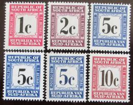 Poštovní známky JAR 1961 Služební, nekompl. Kat 20€