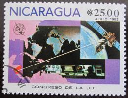 Poštovní známka Nikaragua 1982 Kongres ITU Mi# 2253