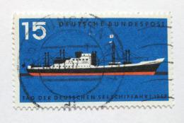 Poštovní známka Nìmecko 1957 Moderní loï Mi# 257