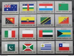 Poštovní známky OSN New York 1984 Vlajky Mi# 448-63