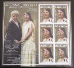 Poštovní známky Dominika 2004 Královna Juliana Mi# 3619