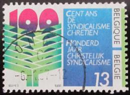 Poštovní známka Belgie 1986 Køes�anské odbory Mi# 2291