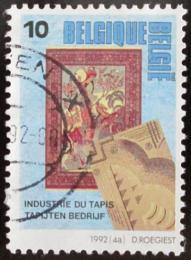 Poštovní známka Belgie 1992 Výroba kobercù Mi# 2497